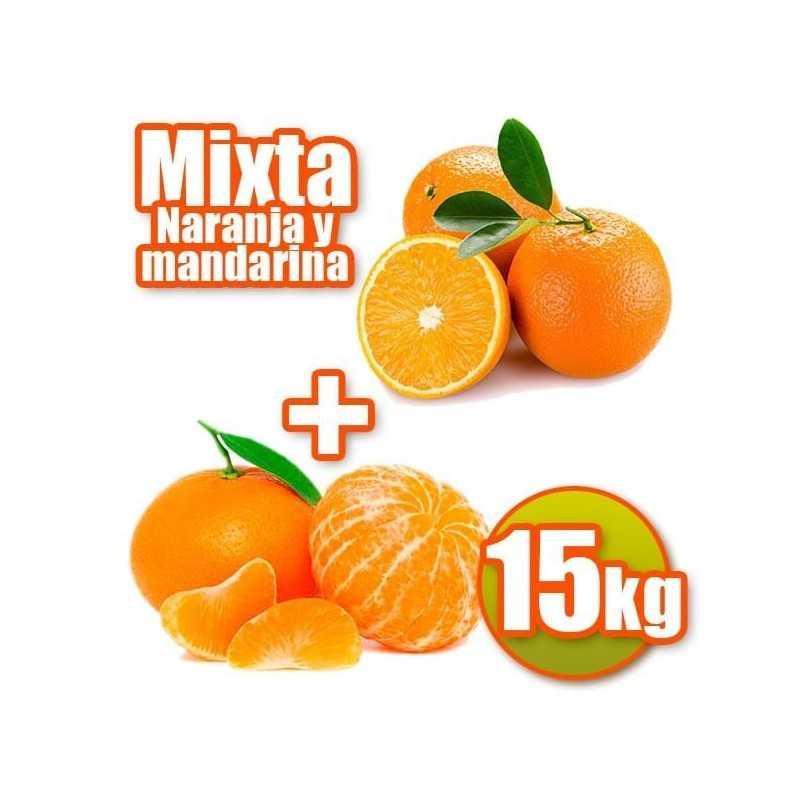 15 kg di arance e mandarini tavola