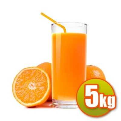5 kg de jus d'oranges