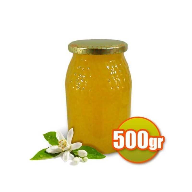 Le miel de fleur d'oranger 500 gr