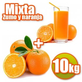 10 kg de jus d'orange et Mesa