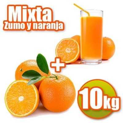 10 kg de jus d'orange et Mesa