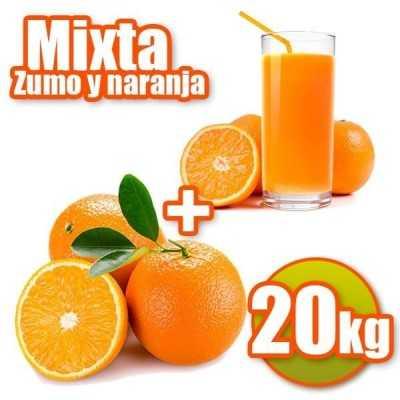 20Kg de Naranjas de Zumo y Mesa