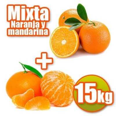 15 kg d'oranges et de mandarines de table