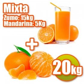 20kg and 5kg 15kgNaranjas Juice Tangerines