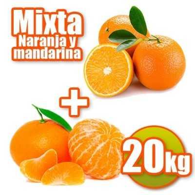 20kg de 15kg Taronges de taula i 5kg Mandarines