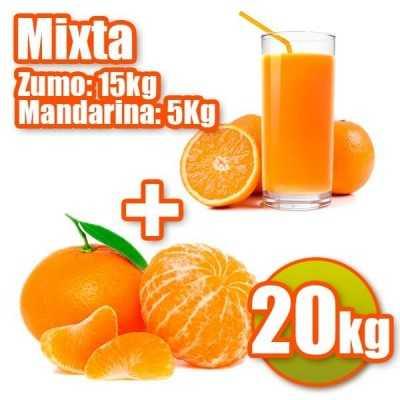 Orangen und Mandarinen Saft.