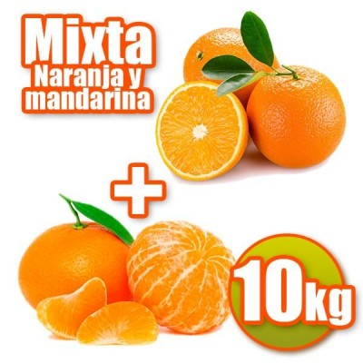 Oranges and tangerines table