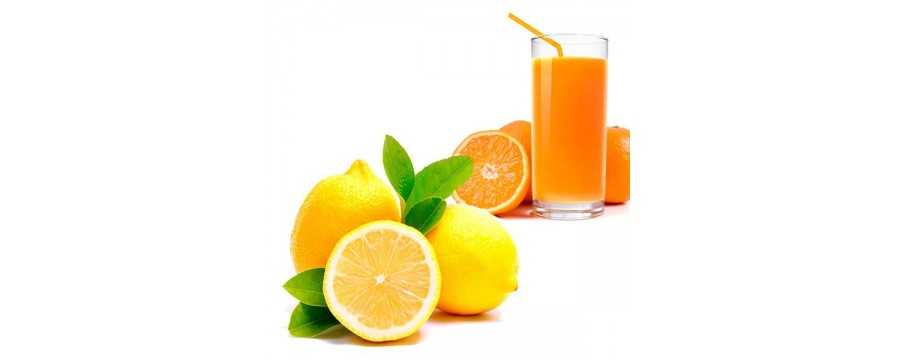 Oranges and lemons for juice